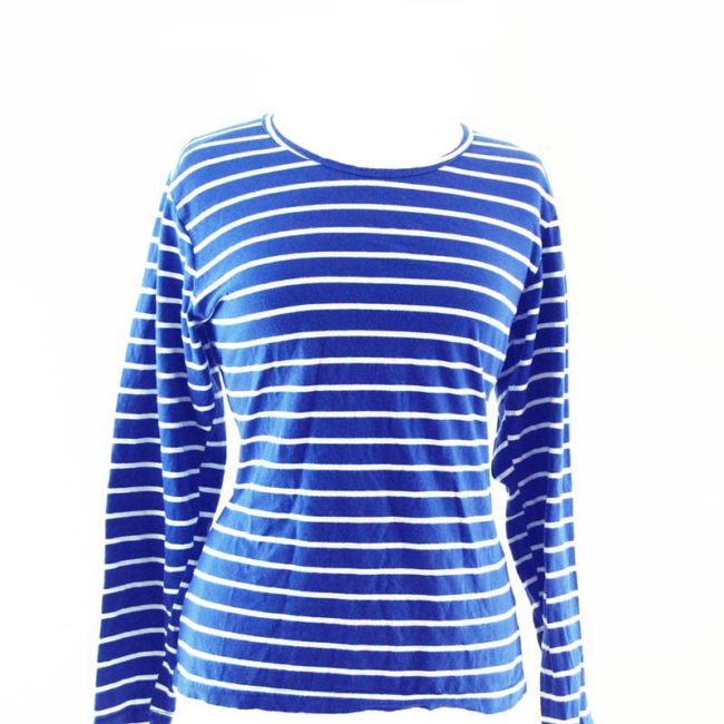 Blue Sailor Long Sleeve Tee Shirt
