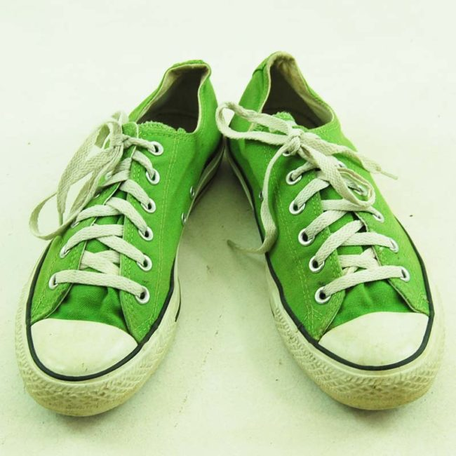 Green Converse All Star Sneakers