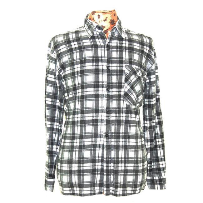 Grey Oversized Grunge Shirt