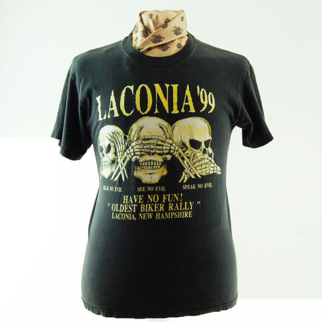 Laconia 1999 Retro Tee Shirt