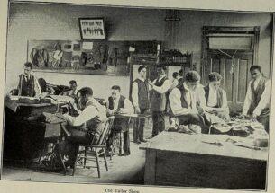 Mens retro shirts UK - The tailor shop, 1898