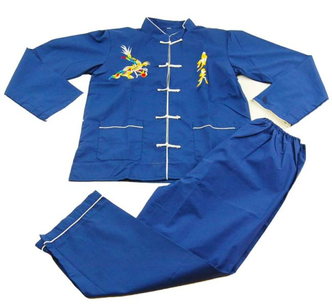 Navy Blue Child Size Tang Suit