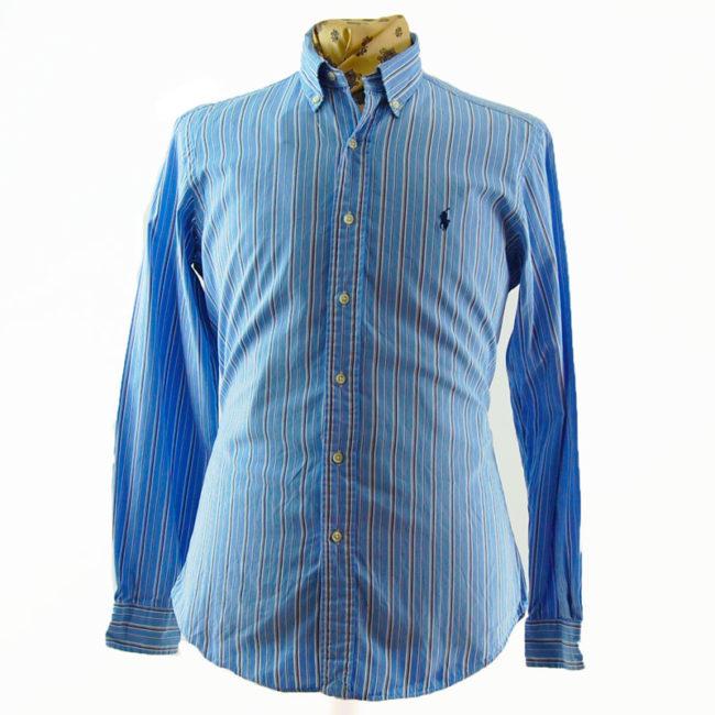 Ralph Lauren Blue Pinstripe Shirt