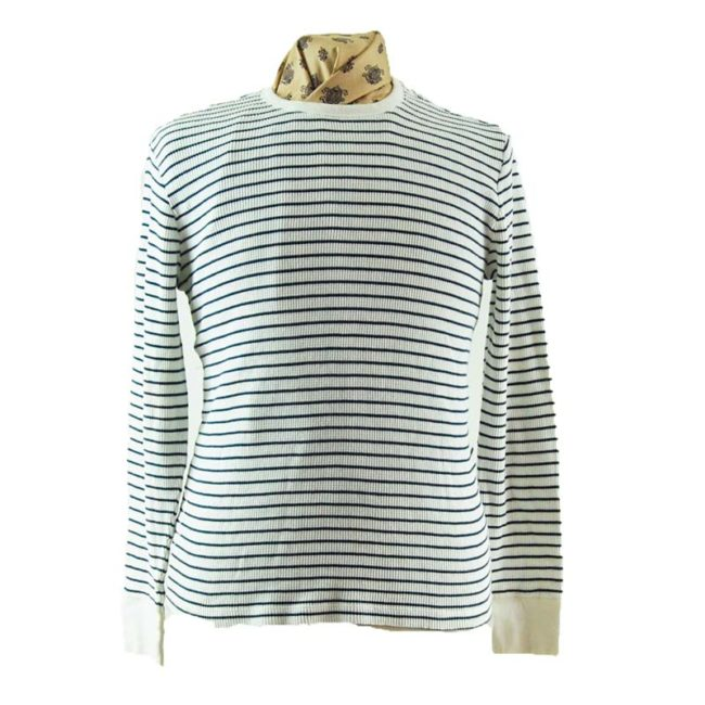 Ribbed Long Sleeve Tee Shirt