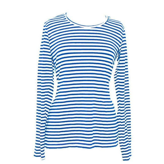 Striped Long Sleeve Tee Shirt