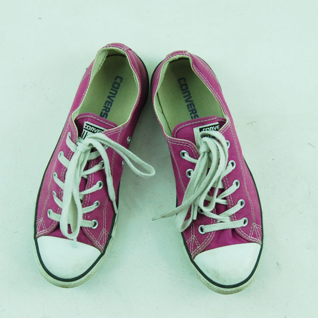 Vintage Purple Converse All Star Sneakers