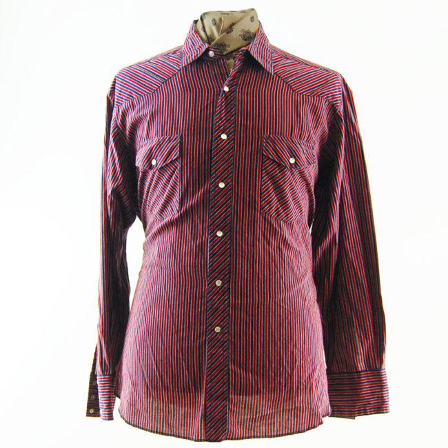 Wrangler Pinstripe Western Shirt