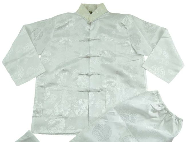 close up of Oriental Child Size Tang Suit