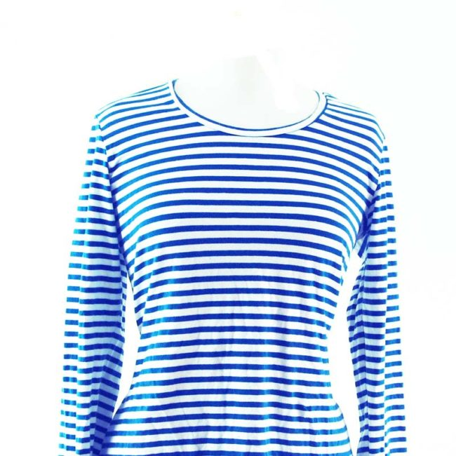 close up of Striped Long Sleeve Tee Shirt