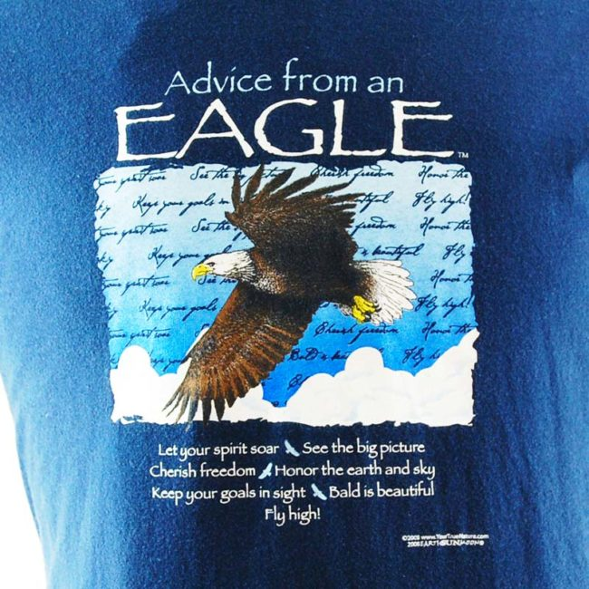 image of Eagle Nature Tee Shirt