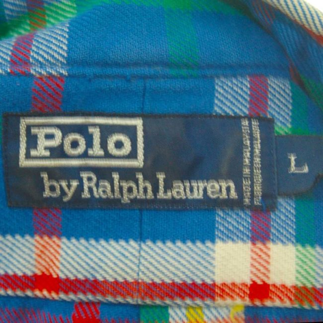 label of Polo Ralph Lauren Multicolored Shirt