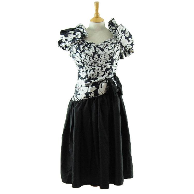 80s Homemade Prom Dress
