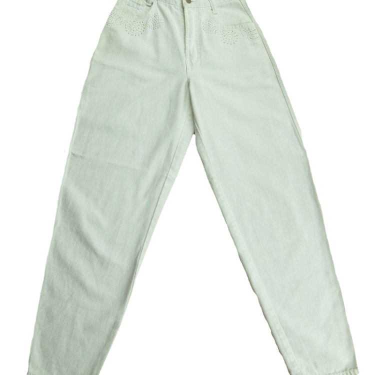 90s Diamante High Waisted Trousers