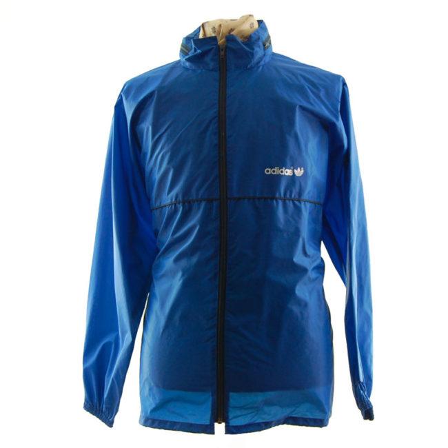 Adidas Blue Windbreaker Jacket