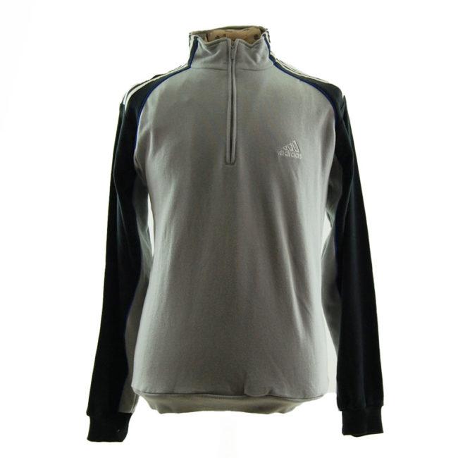 Adidas Quarter Length Zip Sweater