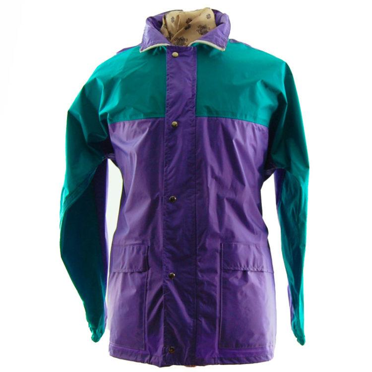 Block Colour Windbreaker Jacket