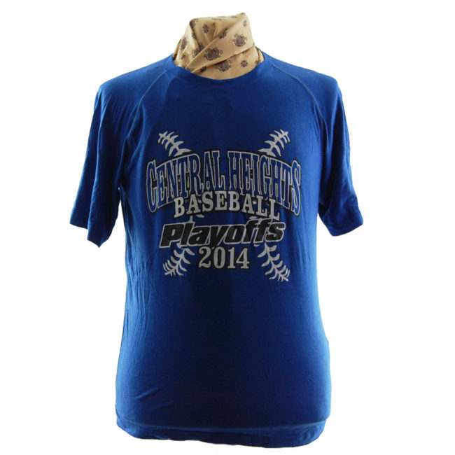 Central Heights Baseball T Shirt