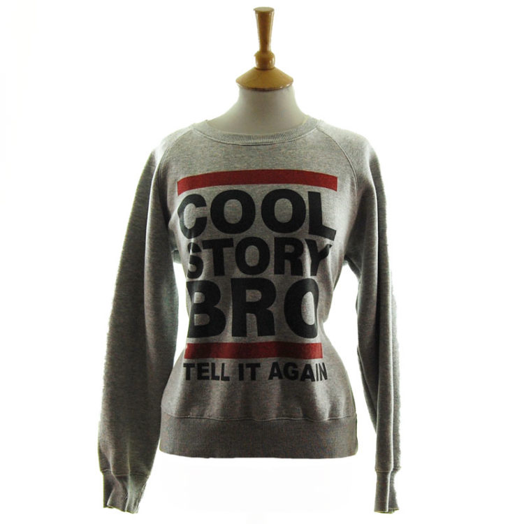 Classic Cool Story Bro Sweater
