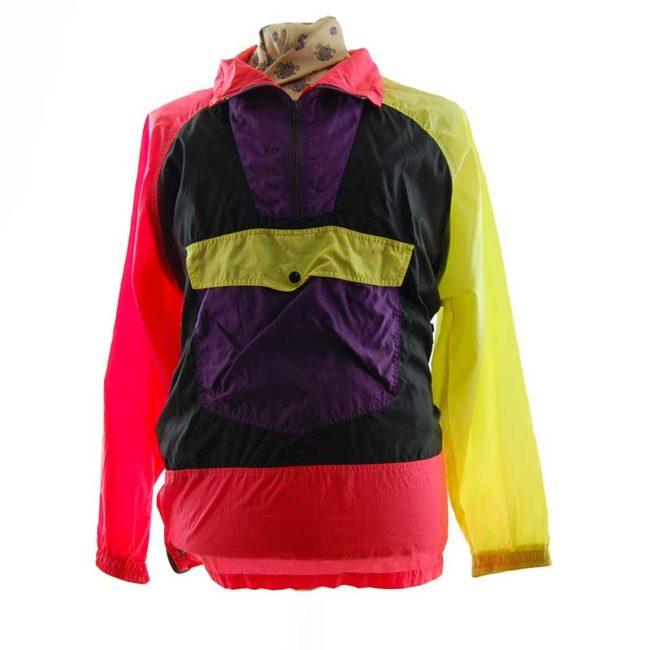 Colorful Rave Windbreaker Jacket