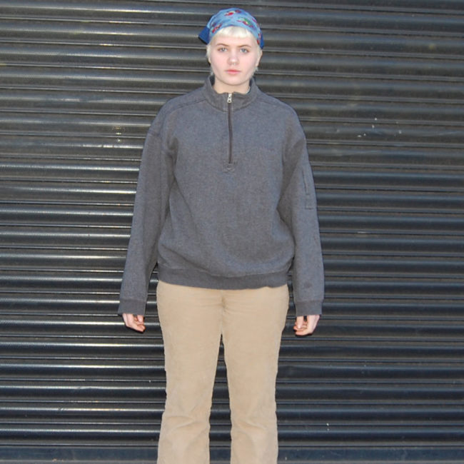 Columbia Oversized Grey Sweater