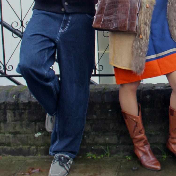 Delta USA Blue Denim Trousers