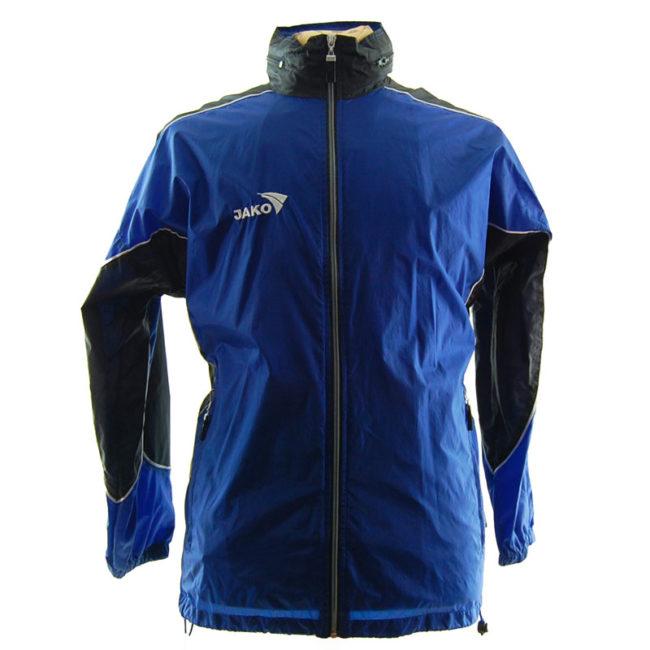 Jako Blue Windbreaker Jacket