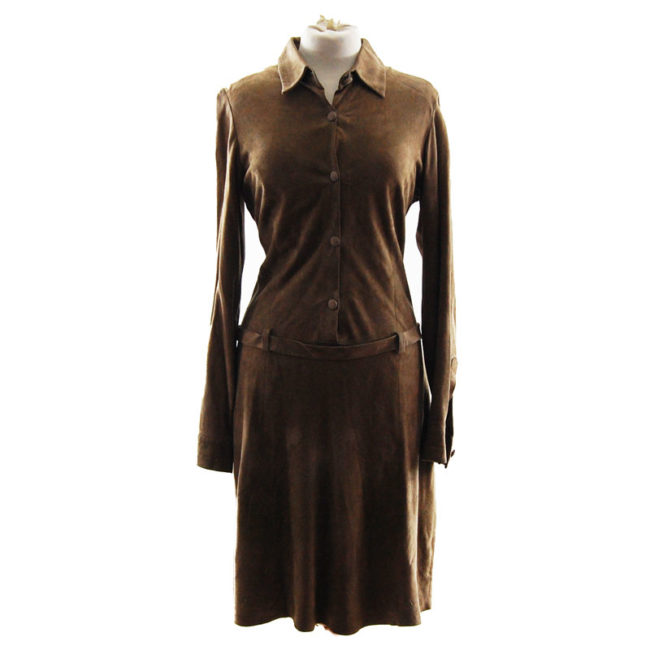 Joseph London Suede Dress