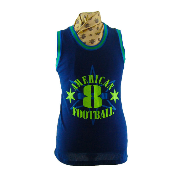 Mens American Football Vest Top