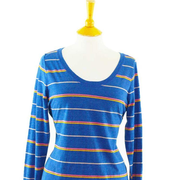 Mossimo Navy Long Sleeve Tee Shirt