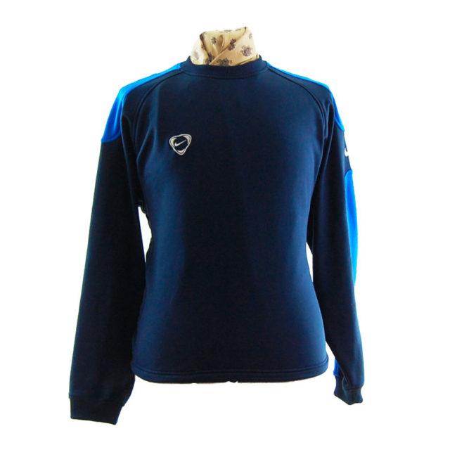 Nike Oversized Navy Blue Sweater