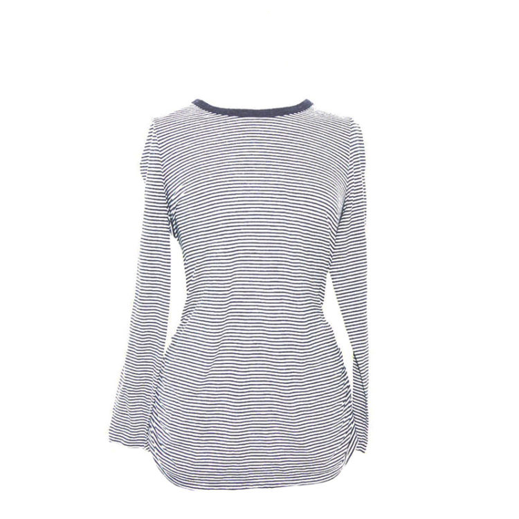 Ruched Long Sleeve Tee Shirt