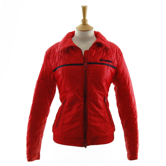Vibrant Red Skiing Jacket