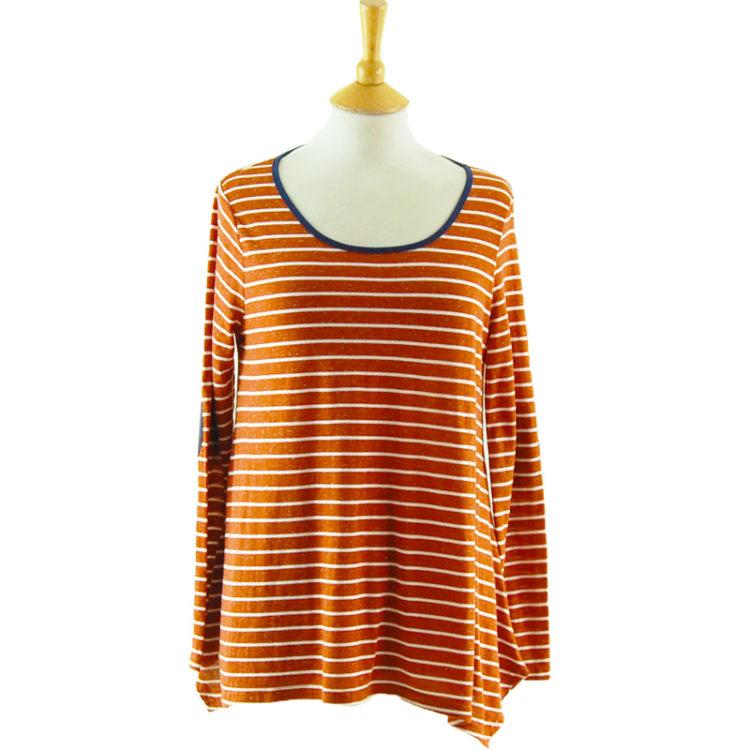 Vintage Inspired Long Sleeve Tee Shirt