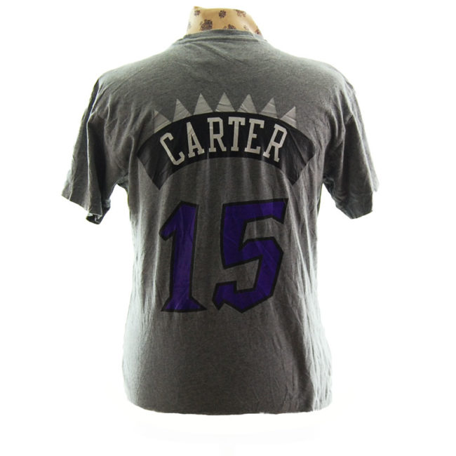 back of NBA Rapters Basketball T Shirt