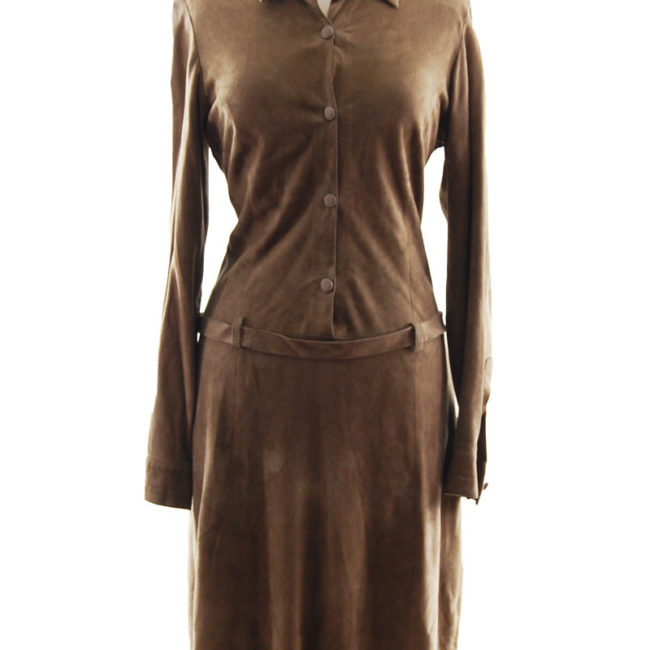 body of Joseph London Suede Dress