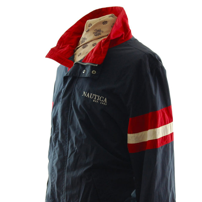 close side of Nautica Windbreaker Jacket