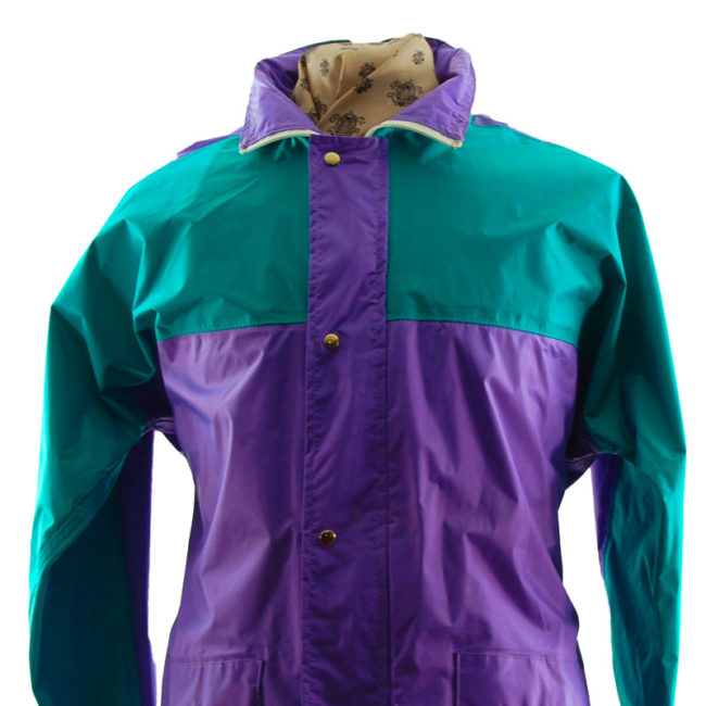 close up of Block Colour Windbreaker Jacket