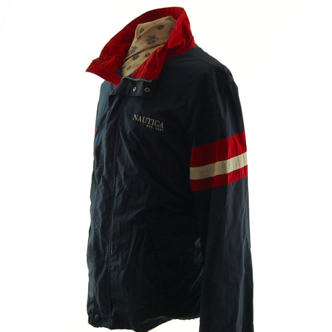 side of Nautica Windbreaker Jacket