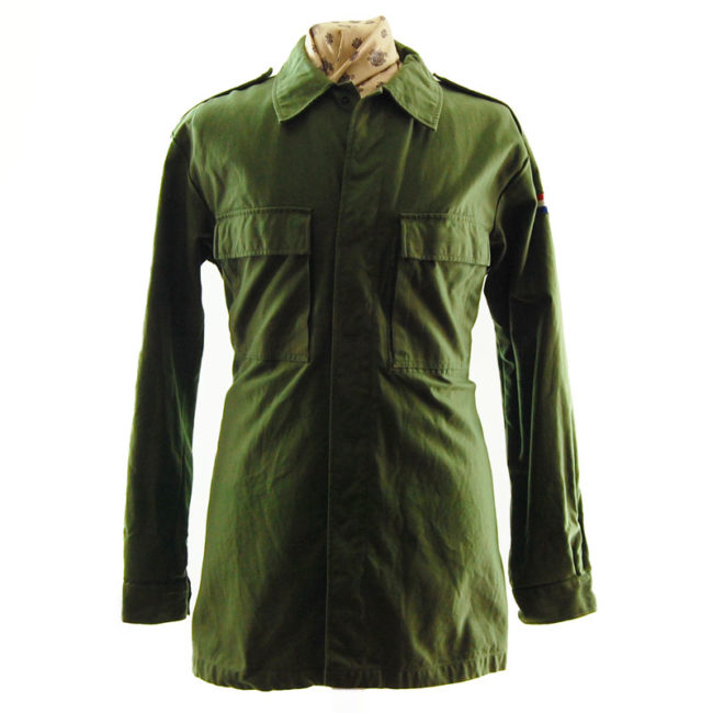 1988 French Cotton Military Jacket