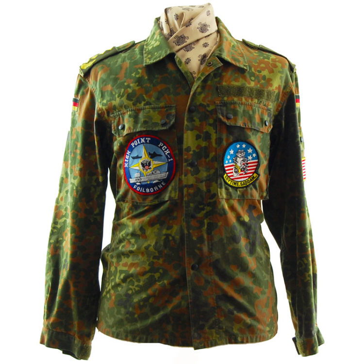 1996 Flecktarn Camouflage Jacket