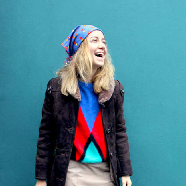 70s Fur Trim Collar Sheepskin Jacket