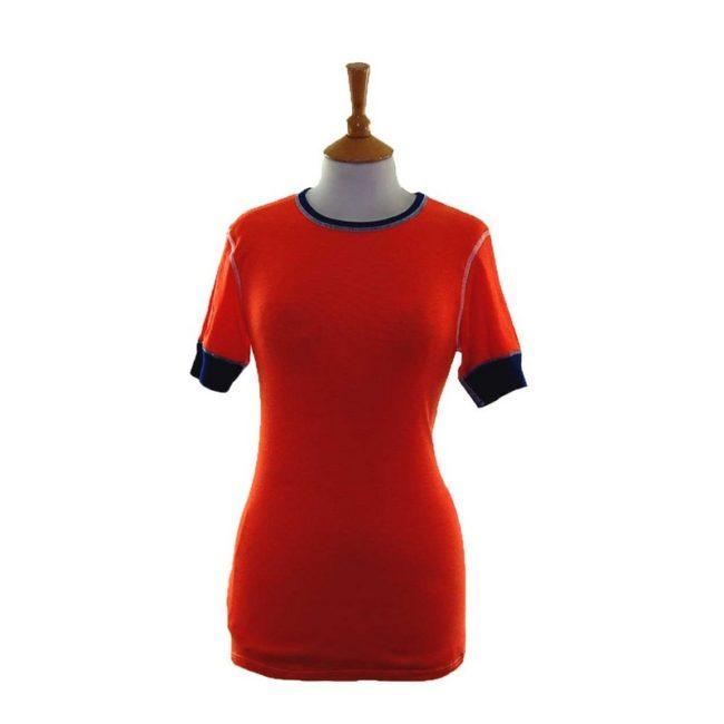 70s Orange Dead Stock Tee Shirt