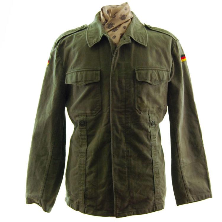 Army Green German Military Jacket