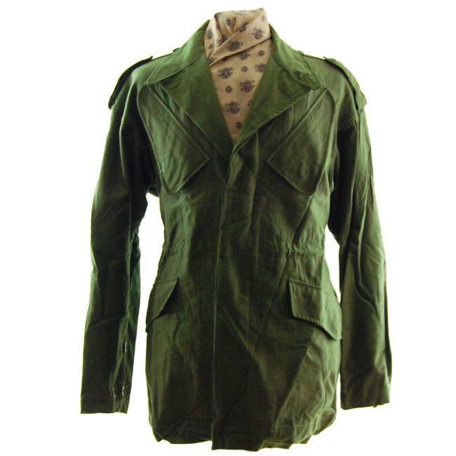 Dutch Olive Green Military Jacket
