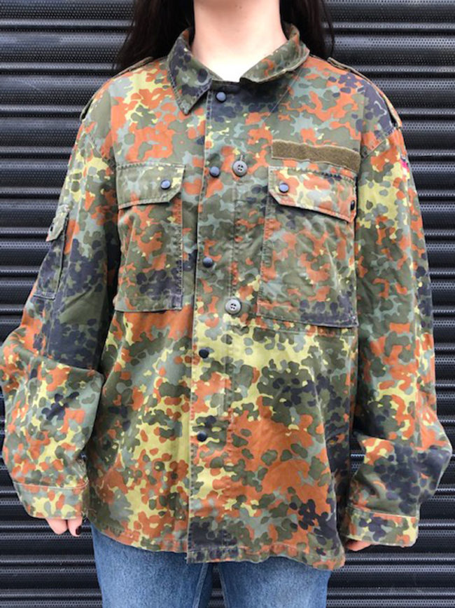 East German Flecktarn Camouflage Jacket