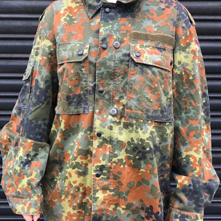 East German Flecktarn Camouflage Jacket