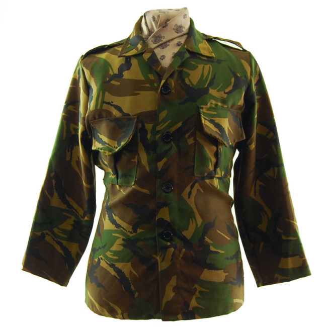 Fancy Dress Camouflage Jacket