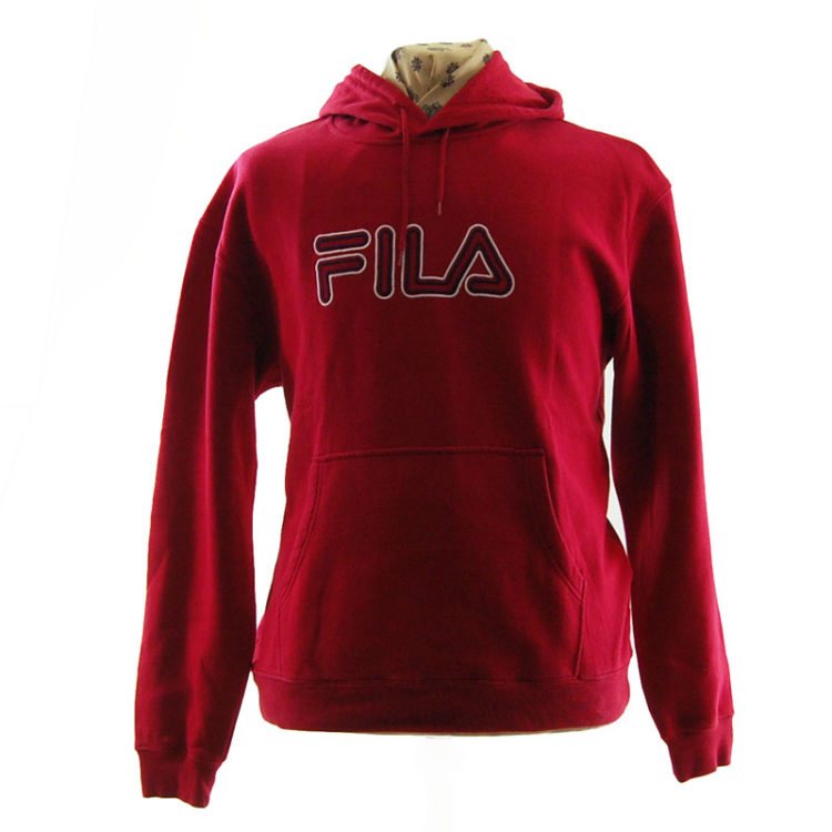 Fila Bright Red Hoodie