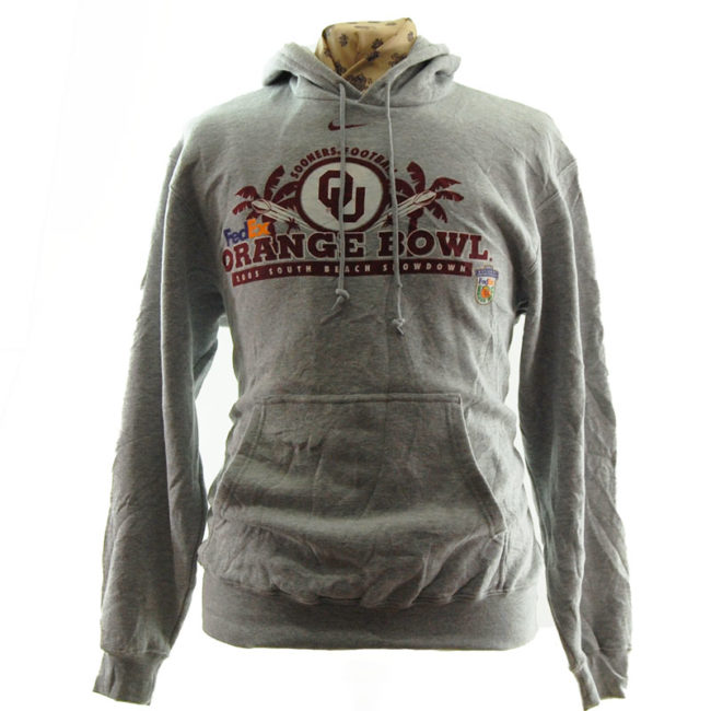 Nike Orange Bowl Football Hoodie
