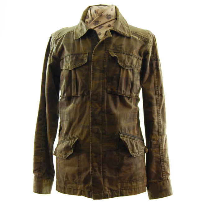 O'Neill Camo Military Inspired Jacket
